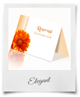 Elegant - Reserved Card