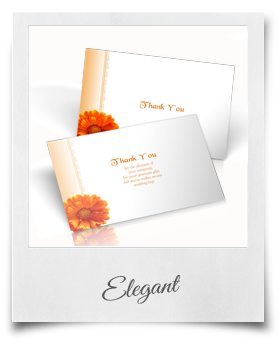 Elegant - Thank You Cards