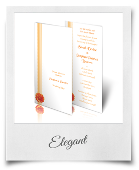 Elegant - Wedding Invitation